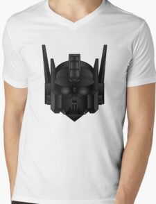 Optimus Vader Mens V-Neck T-Shirt