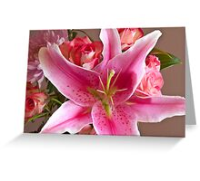 Oriental Lily One Greeting Card