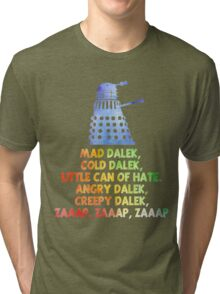 Mad Dalek Doctor Who Tri-blend T-Shirt