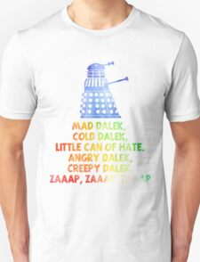 Mad Dalek Doctor Who T-Shirt