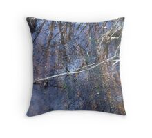 shoal reflections Throw Pillow