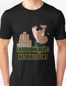 Rock Lee- Black Tshirt T-Shirt