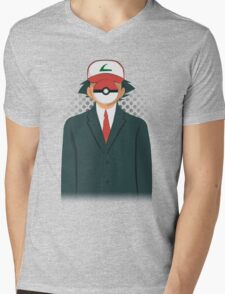 Son of PokeMan Mens V-Neck T-Shirt