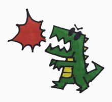 Dino Doodle One Piece - Short Sleeve