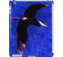 Wings of the Great Blue Heron iPad Case/Skin