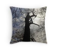 reaching  up Throw Pillow