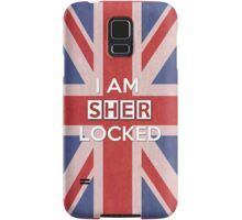 I Am Sherlocked Samsung Galaxy Case/Skin