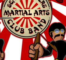 Sensei Pepper's Martial Arts Club Band (2012) Sticker