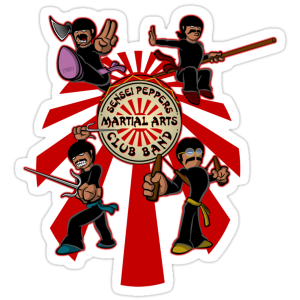 Sensei Pepper's Martial Arts Club Band (2012) by jayveezed