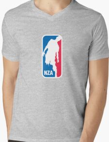 National Zombie Association Mens V-Neck T-Shirt
