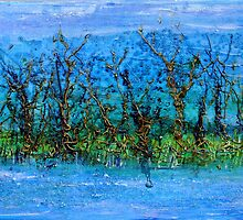 Misty Marsh by Regina Valluzzi