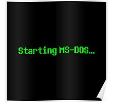 Starting MS-DOS… Poster