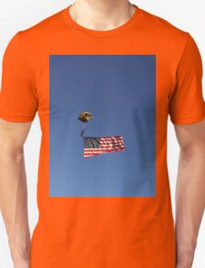 The flag flying high  Unisex T-Shirt
