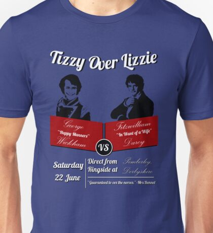 Tizzy Over Lizzie Unisex T-Shirt