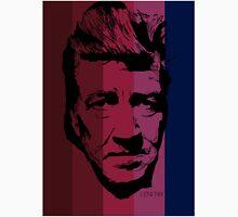 David Lynch in stripy background! Unisex T-Shirt