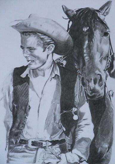 James Dean - Giant by Mike O'Connell