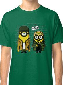 Silent Minion Stuart And Bob Classic T-Shirt