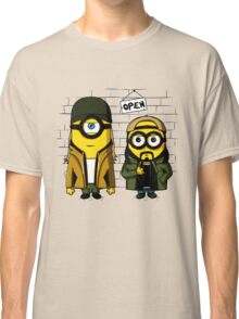 Silent Minion Stuart And Bob Classic T-Shirt