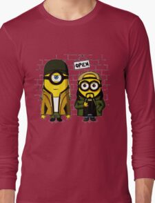 Silent Minion Stuart And Bob Long Sleeve T-Shirt