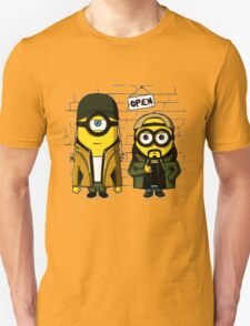Silent Minion Stuart And Bob Unisex T-Shirt