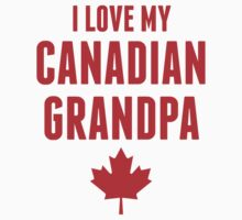 I Love My Canadian Grandpa One Piece - Long Sleeve