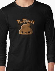 Poopémon Long Sleeve T-Shirt