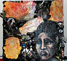 Miners Wives by Karen M Purves www.artbykarenmpurves.moonfruit.com
