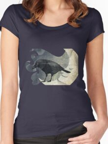 From the Raven Child Women's Fitted Scoop T-Shirt