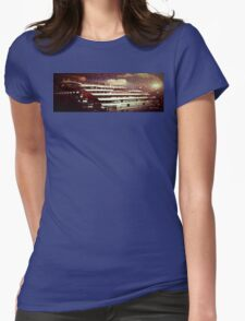 Full Moon Cruiser Womens Fitted T-Shirt