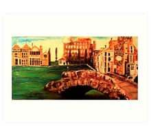 Rusacks Hotel & the 18th Hole, St Andrews, 2 Art Print