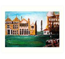 bit of Rusacks hotel, St Andrews 4 Art Print