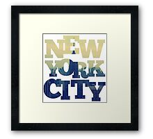 Empire State of NYC Framed Print