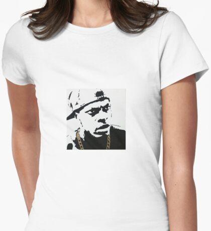Smokey Womens Fitted T-Shirt