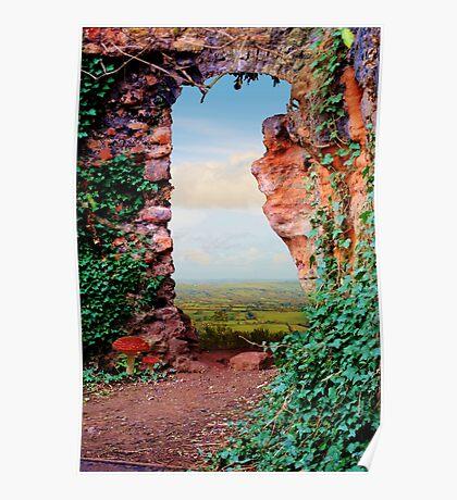 Through the Garden Poster
