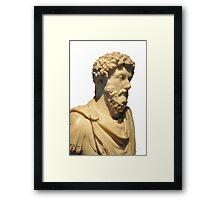 The Emperor Hadrian Framed Print