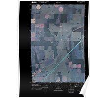 USGS Topo Map Washington State WA Ritzville NE 20110401 TM Inverted Poster