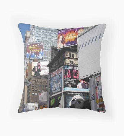 Down town NY Throw Pillow