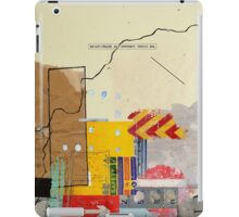 Urban collage iPad Case/Skin