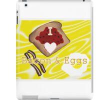 I Love Bacon And Eggs iPad Case/Skin