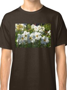 Poet Daffodils Dreams - Impressions Of Spring Classic T-Shirt