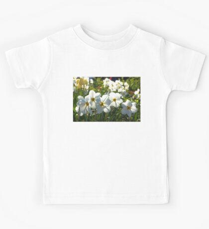 Poet Daffodils Dreams - Impressions Of Spring Kids Tee
