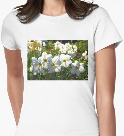 Poet Daffodils Dreams - Impressions Of Spring Womens Fitted T-Shirt