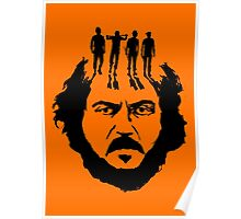 Stanley Kubrick and his droogs! Poster