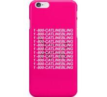 Hotline Bling Parody Catline Bling Drake iPhone Case/Skin