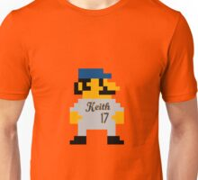 Video Game Baseball Player Unisex T-Shirt