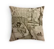 Day For Night  Throw Pillow