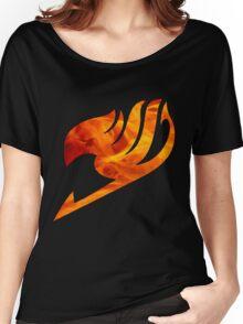 Fire Fairy Tail Logo Women's Relaxed Fit T-Shirt