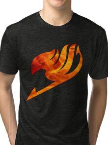 Fire Fairy Tail Logo Tri-blend T-Shirt