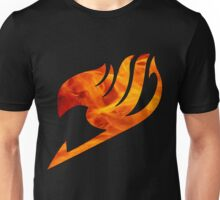 Fire Fairy Tail Logo Unisex T-Shirt