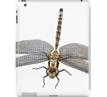 Dragon Fly micro photography close up flipped down iPad Case/Skin
